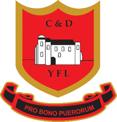 The logo for the Colchester and District Youth Football League